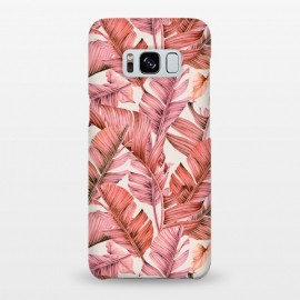 Galaxy S8+  Jungle paradise pink by Mmartabc