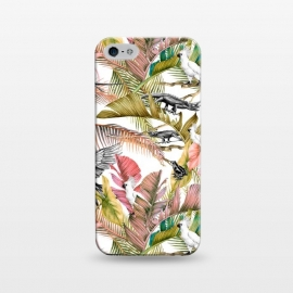 iPhone 5/5E/5s  Paradise in the pink jungle by Mmartabc
