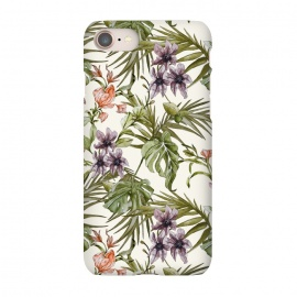 iPhone 8/7  Watercolor tropical foliage by Mmartabc