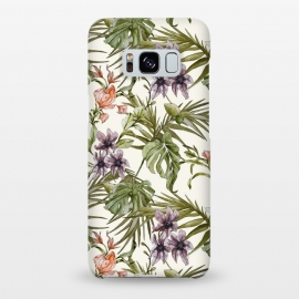 Galaxy S8+  Watercolor tropical foliage by Mmartabc