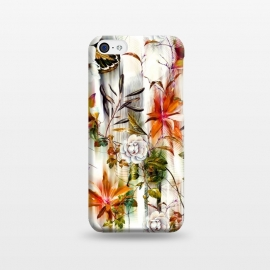 iPhone 5C  Abstract Motion Blur Floral Botanical by Mmartabc