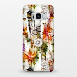 Galaxy S8+  Abstract Motion Blur Floral Botanical by Mmartabc