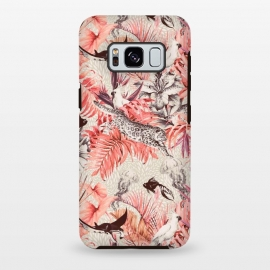 Galaxy S8 plus  Tropical paradise pink 2  by