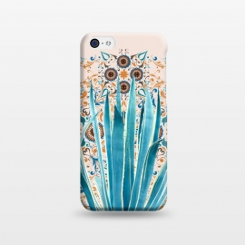 iPhone 5C  Cactus and Moroccan tiles  by Mmartabc
