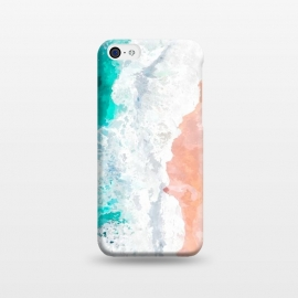 iPhone 5C  Beach Illustration by Alemi