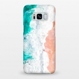 Galaxy S8+  Beach Illustration by Alemi