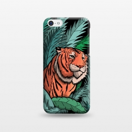 iPhone 5C  As the tiger emerged from the jungle by Steve Wade (Swade)