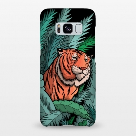 Galaxy S8+  As the tiger emerged from the jungle by Steve Wade (Swade)