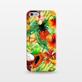 iPhone 5/5E/5s  Aloha Tropical Fruits and Flowers by Utart