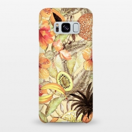 Aloha Retro Fruit and Flower Jungle by Utart