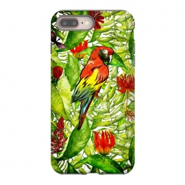 Aloha Parrot and Flower Jungle by Utart
