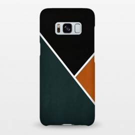Galaxy S8+  Noir Series - Forest & Orange by Nicklas Gustafsson