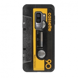 Galaxy S9+  CASSETTE YELLOW by Diego Tirigall ()