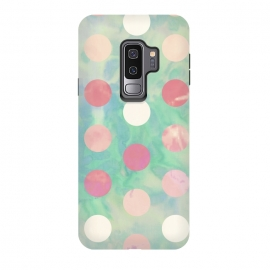 Galaxy S9+  Polka Dots Watercolor Front by Girly Trend