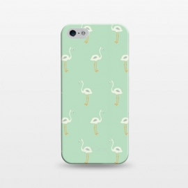iPhone 5/5E/5s  Flamingo Mint Pattern 005 by