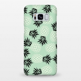 Galaxy S8+  Pineapple Mint Pattern 023 by Jelena Obradovic