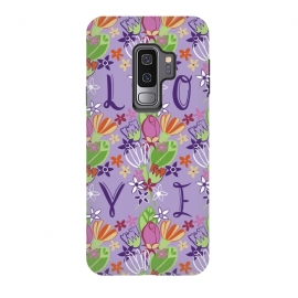 Galaxy S9 plus  Spring Love by  (LOVE,spring,floral,flowers)