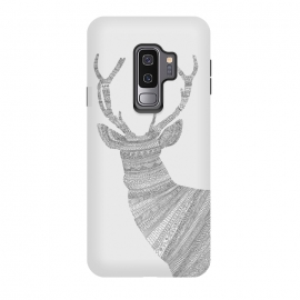 Galaxy S9+  Stag Grey Poster grey by Florent Bodart