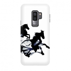 Galaxy S9+  Black Horses by Róbert Farkas ()