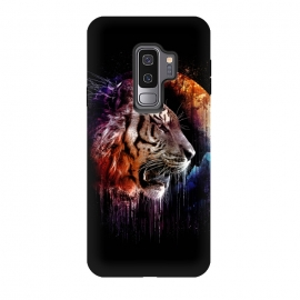 Galaxy S9 plus  Midnight Hunter by  (tiger,big cats,cats,wild life,wild,hunter,predator,midnight)