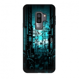Galaxy S9 plus  Steelscape by  (buildings,steel,landscape,future,mecha,tallbuildings,urban,city,cosmic)