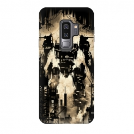 Galaxy S9 plus  The Builder by  (robot,mecha,buildings,moon,builder,titan)