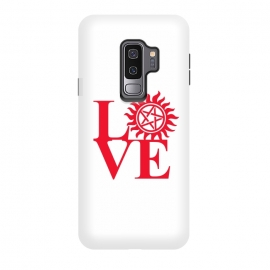Galaxy S9 plus  Love Hunting by  (supernatural,spn,demon hunting,love,tv series,tv,winchesters)