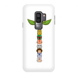 Galaxy S9 plus  Star Wars Totem by  (star wars,totem,pole,movie,film)