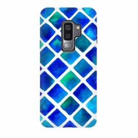 Galaxy S9+  Geo Blue by Amaya Brydon