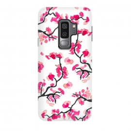 Galaxy S9 plus  Japanese Cherry Blossoms by  (cherry,cherryblossoms,japanese,pink,floral,japan,branches)