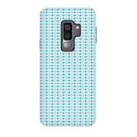 Galaxy S9 plus  Blue Pattern by  (pattern,vector,geometric,texture,blue)