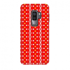 Galaxy S9 plus  Orange Pattern by  (vector,color,pattern,geometric,abstract,orange)