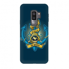 Galaxy S9 plus  King Of Pirates by  (pirate,anchor,sea,ocean,skull,anime,one piece,japan,king)