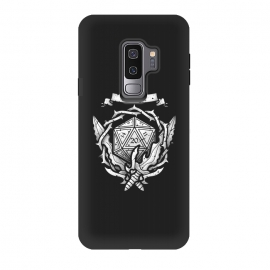 Galaxy S9 plus  Warrior Crest by  (dnd,dungeons and dragons,crest,warrior,weapons,sword,blade,rpg,role play,gamer,gaming,adventure)