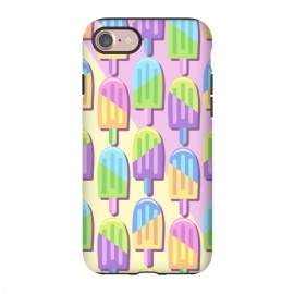 iPhone 8/7  Ice Lollipops Popsicles Summer Punchy Pastels Colors by BluedarkArt