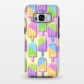 Galaxy S8 plus  Ice Lollipops Popsicles Summer Punchy Pastels Colors by