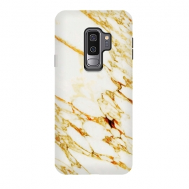 Galaxy S9 plus  Gold Marble by