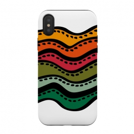 iPhone Xs / X  Color Waves by