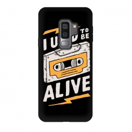 Galaxy S9 plus  Alive by  (funny,90s,cassette)