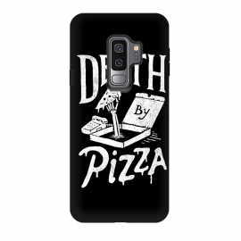 Galaxy S9+  Death By Pizza by Tatak Waskitho (pizza,funny)