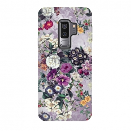 Galaxy S9+  Floral Pattern by Riza Peker (Flowers,collage,art,spring,summer,design,RizaPeker)