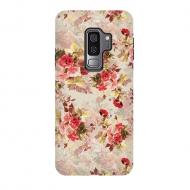 Galaxy S9+  Floral Pattern X by Riza Peker (Flowers,Roses,art,design,RizaPeker)