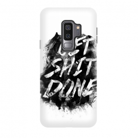 Galaxy S9+  Get Shit Done by Rui Faria (get shit done,type,typography,ink,paint)