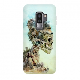 Galaxy S9 plus  Nature Skull by