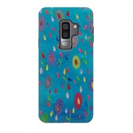 Galaxy S9 plus  Falling flowers by  (fun modern)