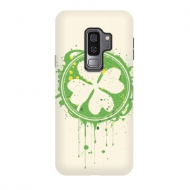 Galaxy S9 plus  Patrick's clover by