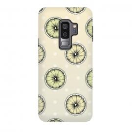 Galaxy S9 plus  Lemon & Lime by  (Lemon, Slice, Summer, Fresh, Lime, Fruit, Colorful, Pattern, Sweet, Sour)