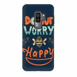 Galaxy S9+  Donut Worry Be Happy by Coffee Man