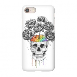 iPhone 8/7  Skull with rainbow brains by kodamorkovkart