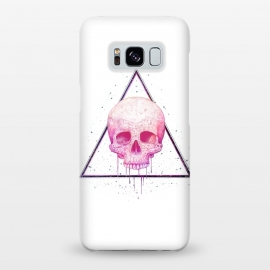 Galaxy S8+  Skull in triangle by kodamorkovkart